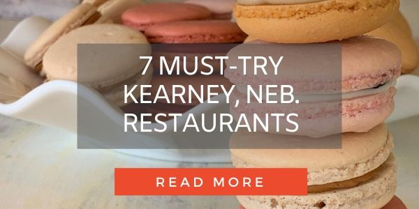 Button to post about Kearney restaurants