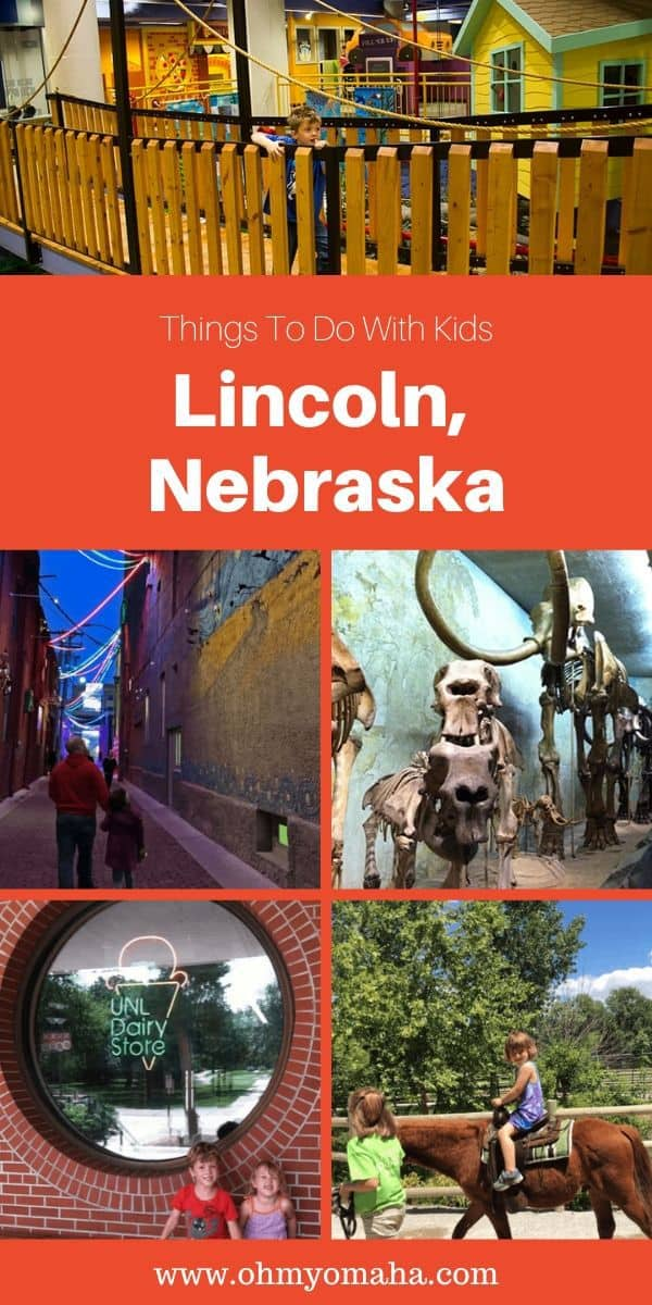 Planning a weekend in Lincoln, Nebraska? Here's a list of fun things to do with kids in Lincoln. This includes free places to visit, kid-friendly dining and, of course, a children's museum and zoo! #Nebraska #familytravel #Midwest