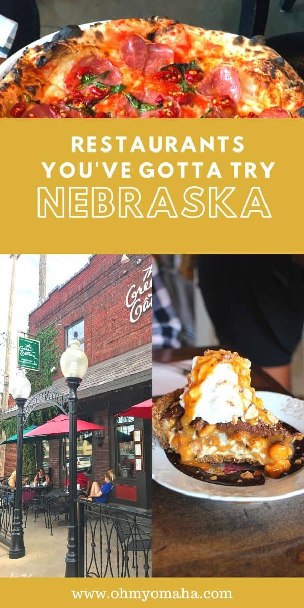 10 must-try Nebraska restaurants - From small towns cafes and steakhouses to gourmet restaurants in Omaha, here are the best and most memorable restaurants in Nebraska. #Nebraska #food #restaurants #foodie #travel #Midwest