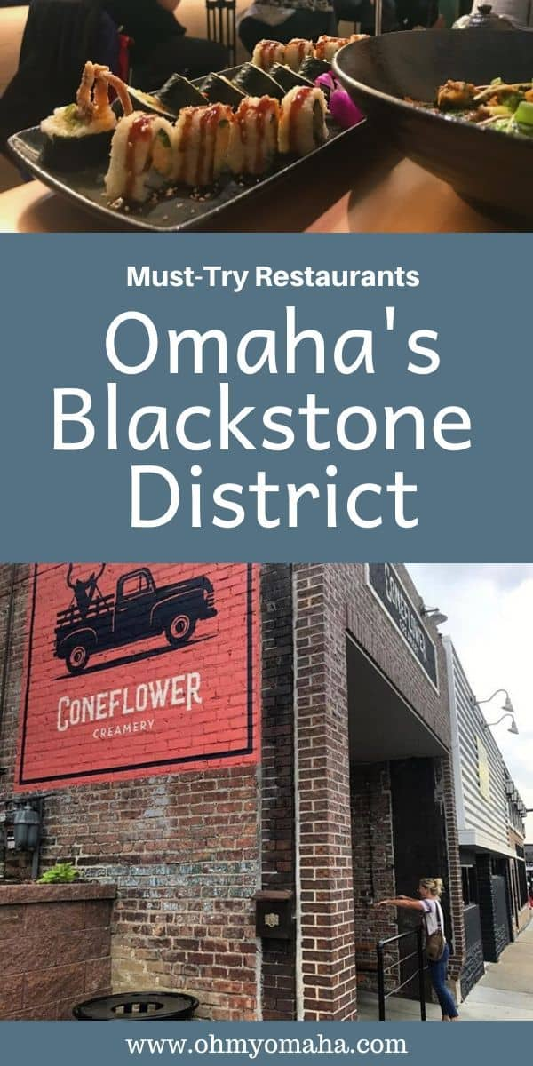 Some of Omaha's most creative restaurants are located in the historic Blackstone District. Here's a guide to 10 must-try restaurants, creameries and donut shops. #Omaha #Nebraska #local #restaurants #Midwest