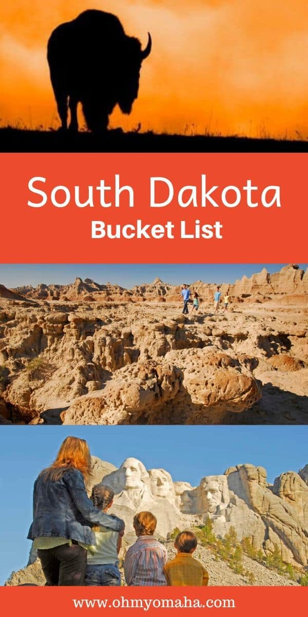 South Dakota Bucket List (Badlands Edition) - The ultimate wish list of things to do in the Badlands, national parks to visit, and unforgettable experiences waiting for families in South Dakota. #SouthDakota #Badlands #Midwest #FamilyTravel