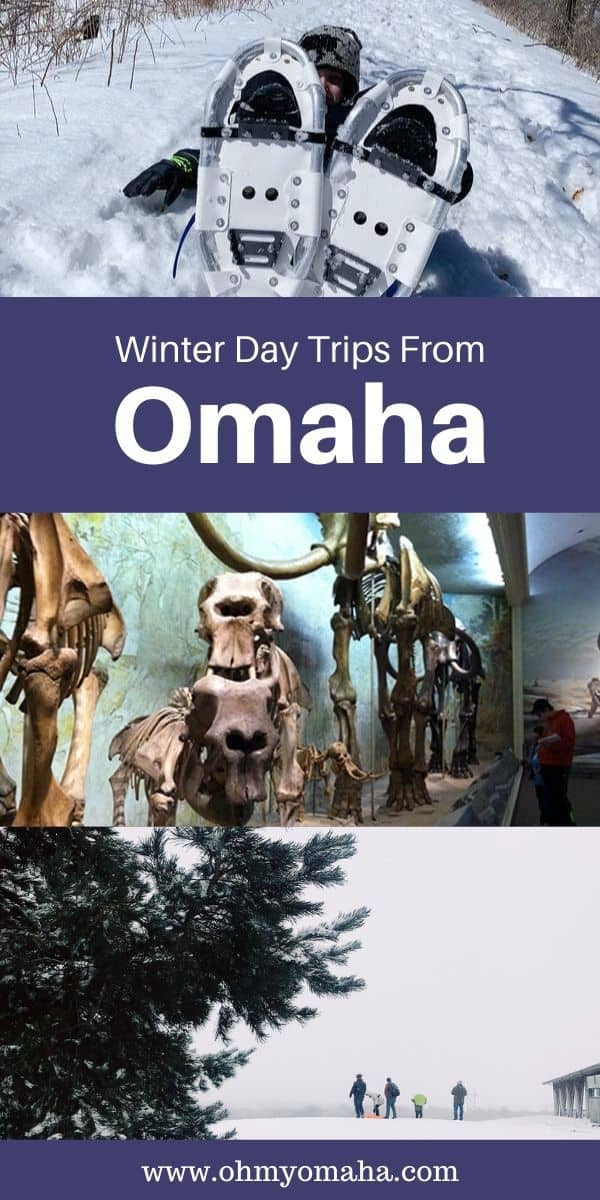 Quick getaways from Omaha to cure the winter blues. Here are a few of my favorite day trips including nearby Iowa and Nebraska cities, with tips on where to take kids and where to eat. #Midwest #Winter #roadtrips #Nebraska #Iowa #familytravel