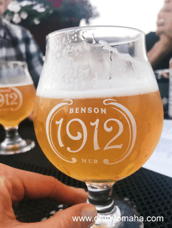 A beer at 1912 in Benson