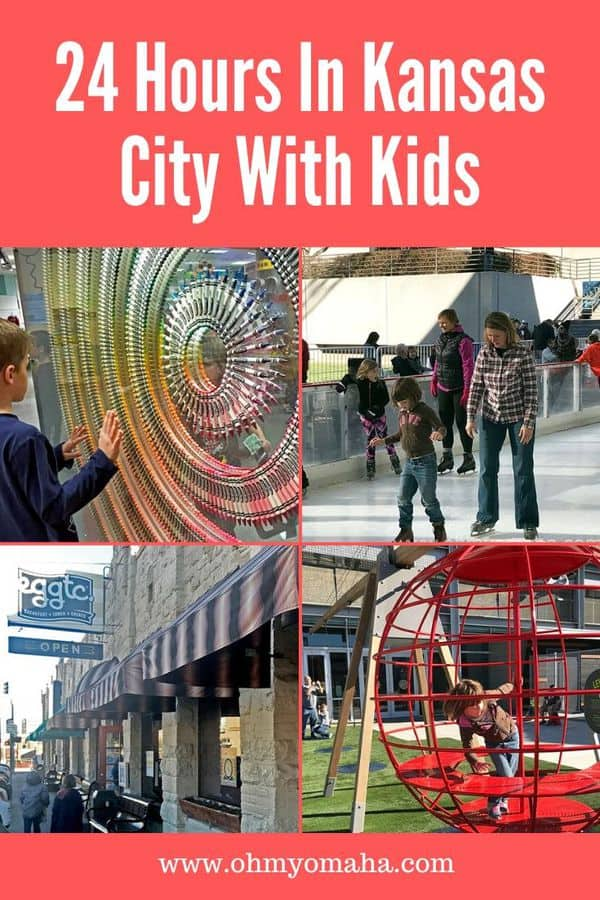 Only have one day in Kansas City, Missouri? Here's a guide to help you decide on things to do, restaurants to choose, and where to stay to fit it all in. KC is a great getaway for families! #familytravel #KC #KansasCity #VisitKC #USA #Missouri #Midwest