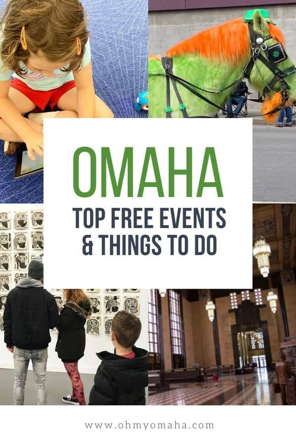 Looking for free things to do in Omaha, Nebraska? Here's a list of free museums, free attractions, free annual events, and more! #Omaha #Nebraska #budget #familyfun