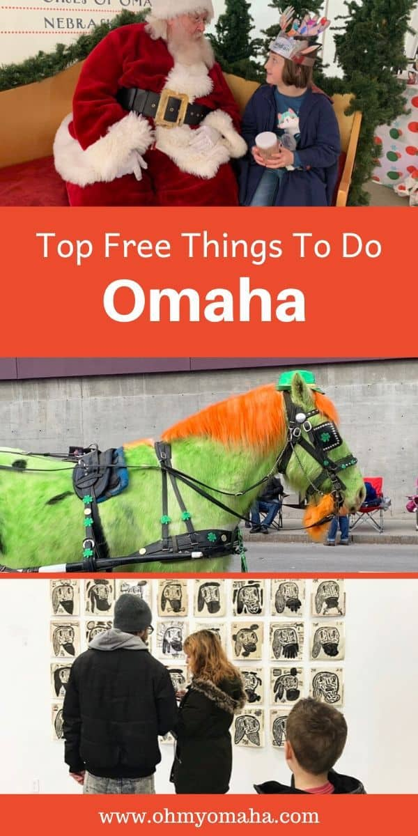 Explore Omaha , Nebraska on a budget with this list of free things to in Omaha. Find out about popular free annual events and festivals, plus Omaha attractions and museums that are free every day of the year. This is a great list for families looking for fun things to do on a budget. #Omaha #Nebraska #Midwest #familytravel