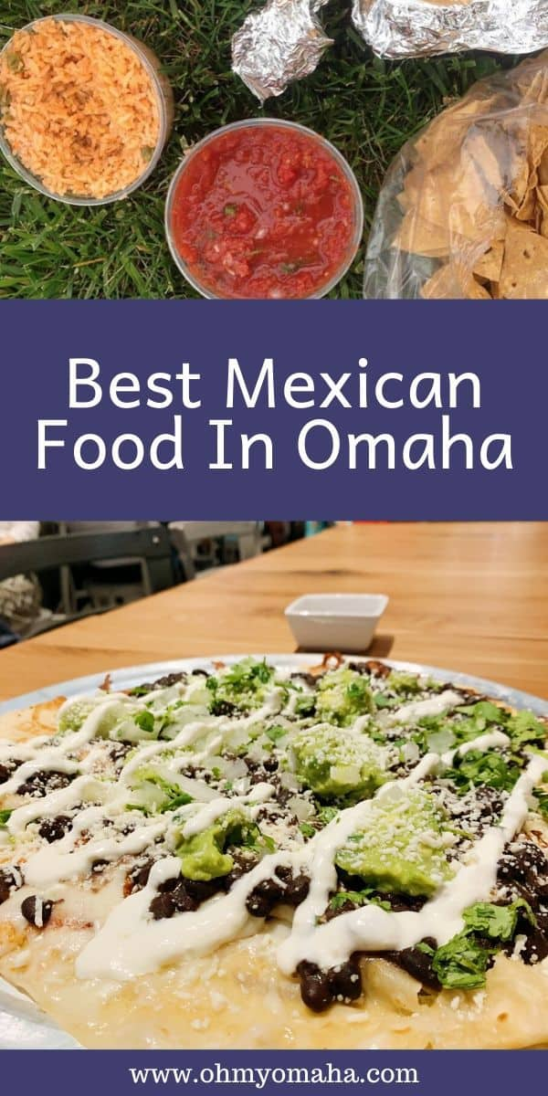 Here's a list of the best Mexican restaurants in Omaha, from long-running Omaha icons to food trucks and modern takes on Mexican cuisine. If you're hungry for Mexican food, this is the Omaha restaurant post for you! #Omaha #Nebraska #restaurants #Midwest