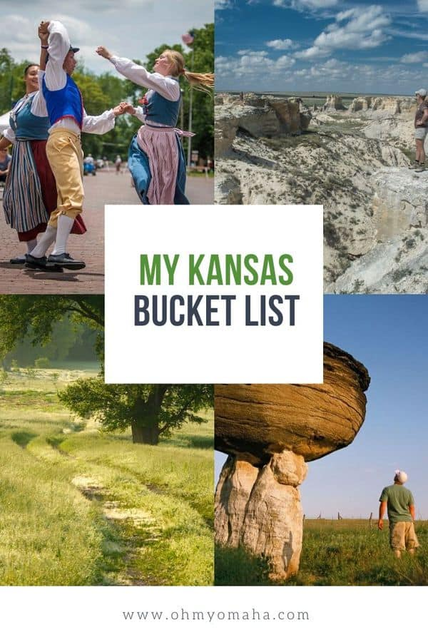 Planning a trip through Kansas? Here's the ultimate list of things to do in Kansas, from must-see parks and trails, to festivals and cultural attractions. #Kansas #Midwest #roadtrip