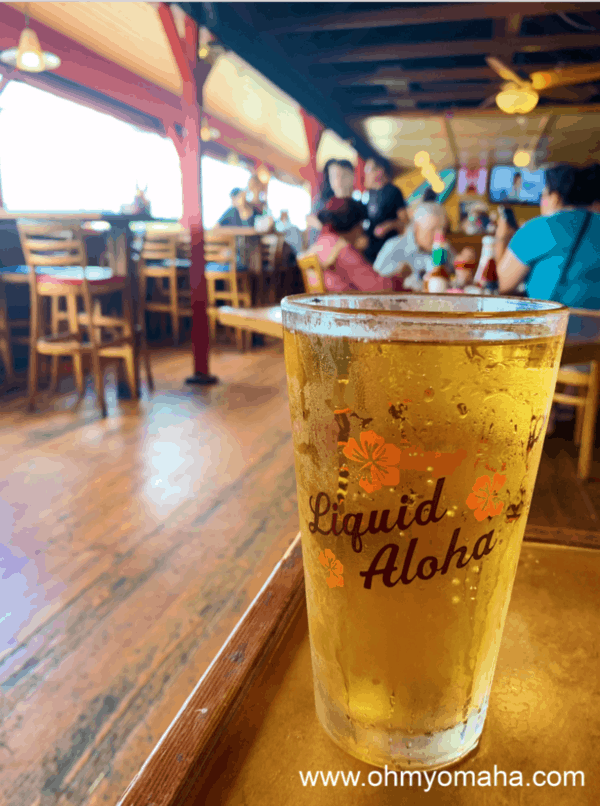 Beer at Olympic Cafe in Kapaa