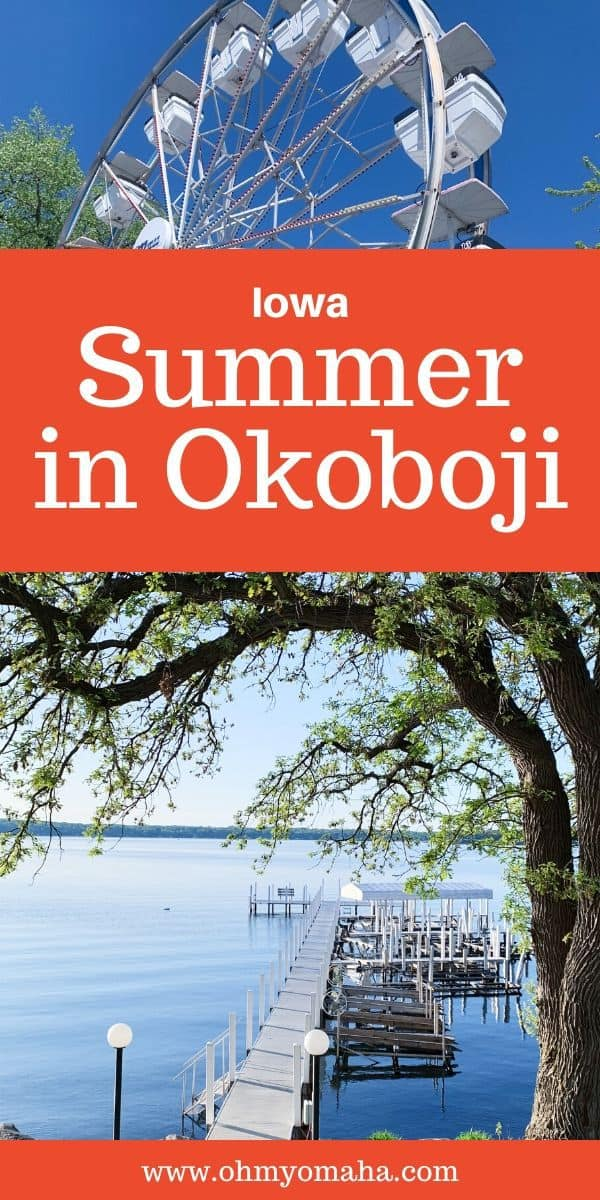 Planning a summer vacation to Okoboji, Iowa? Here's a guide to fun things to do in Okoboji, highlighting great restaurants, kid-friendly attractions, and outdoor adventures for the whole family. #Okoboji #Iowa #thisisiowa #Midwest #familytravel