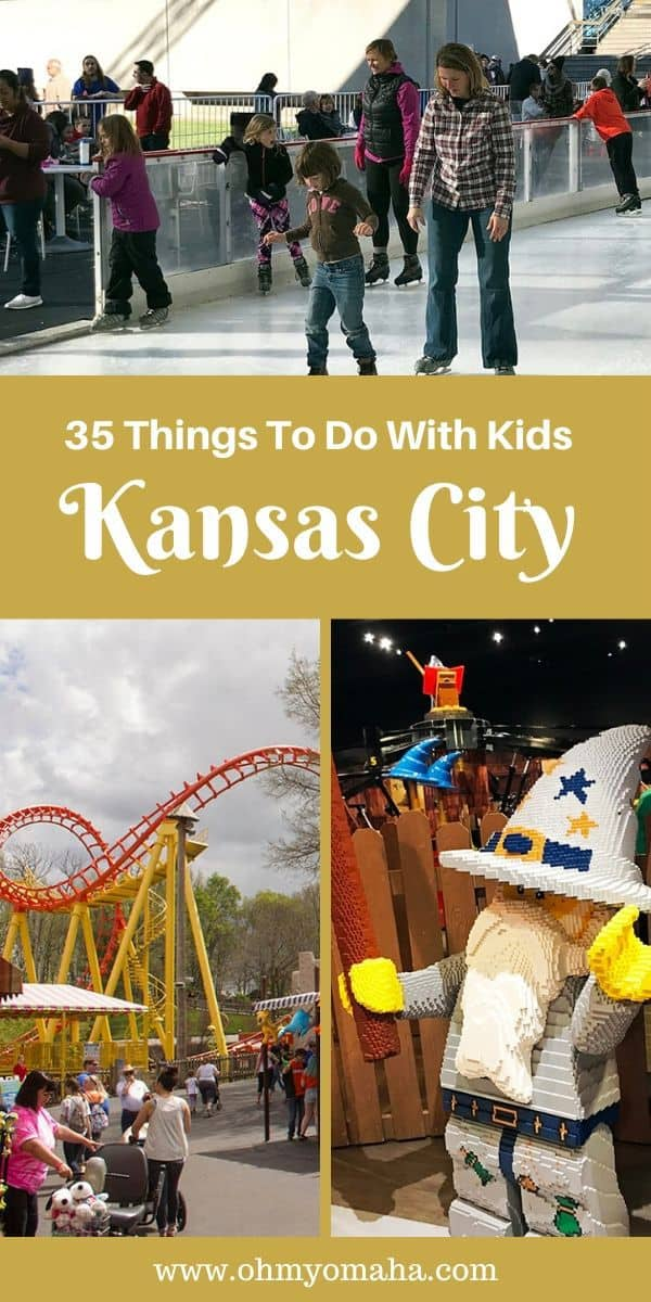 Plan a family trip to Kansas City!  Here's a list of fun things to do in Kansas City including kid-friendly museums, must-see attractions and restaurants. This post includes some of my favorite holiday events in KC, too! #Missouri #KC #Guide #familytravel #USA