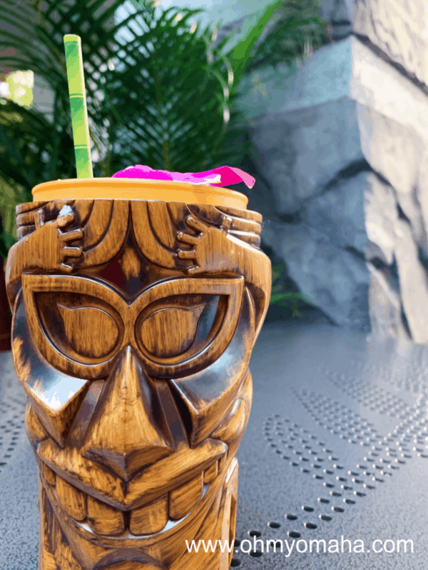 Tiki drink at Universal Studious Hollywood