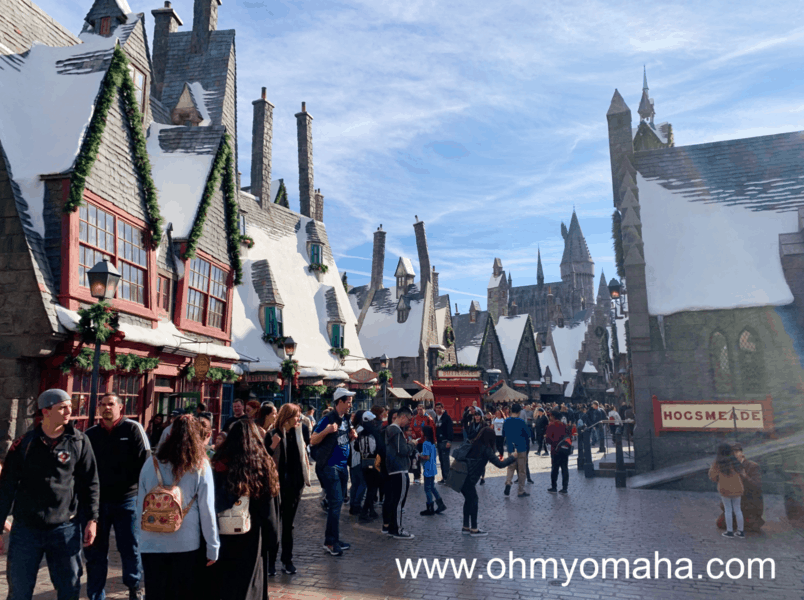 Buildings at The Wizarding World of Harry Potter at Universal Studios Hollywood