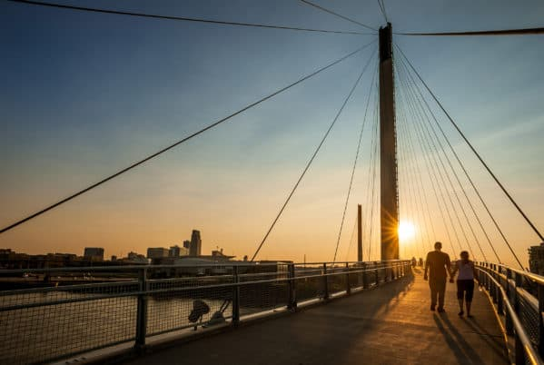8 Things To Do At The Bob Kerrey Pedestrian Bridge