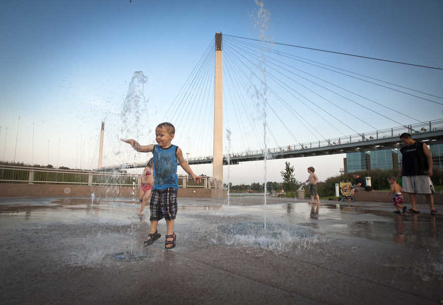 Bridge Beats concert, a free summer concert series at The Bob in downtown Omaha
