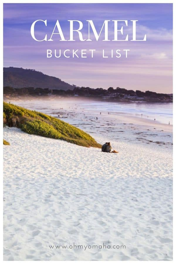 Dream Carmel-by-the-Sea California - Here's a bucket list of things to do in Carmel, restaurants to visit, and must-do activities. #Carmel #California #Beach #Vacation #USA #USATravel