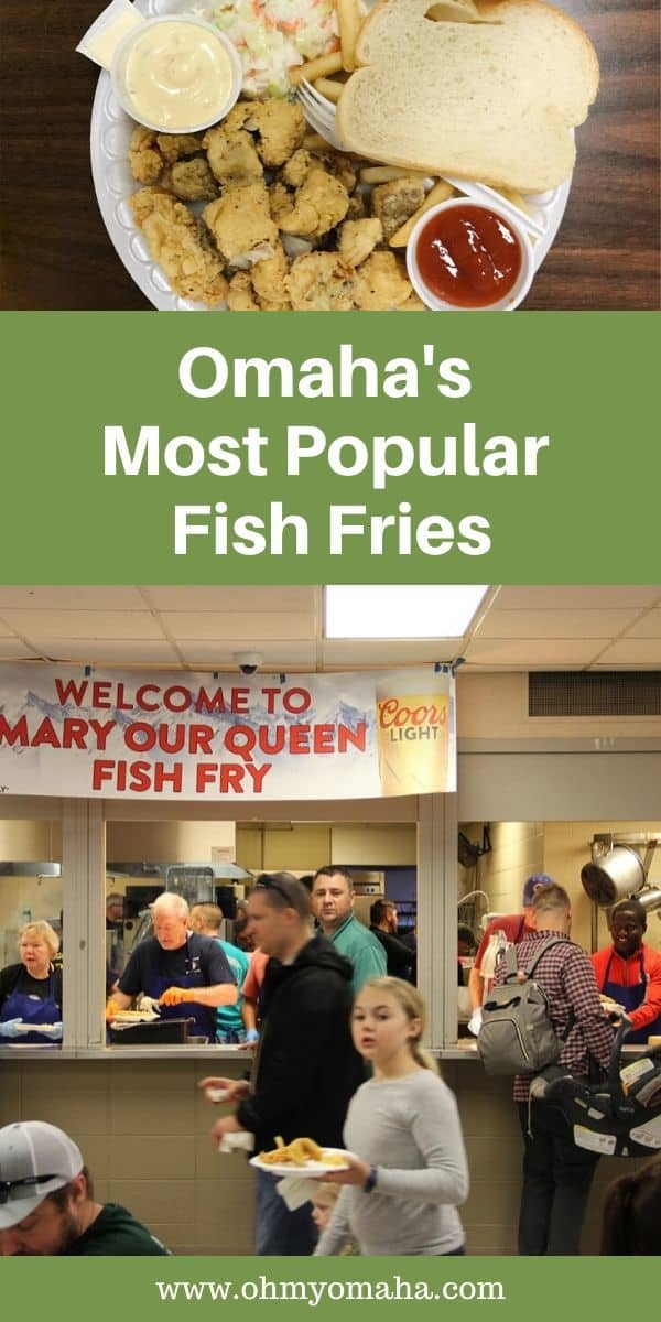 What is it about fish fries that Omaha families love so much? Here's a guide to some of the most popular fish fries found in the city, with tips on when to go to beat the crowd! #Omaha #dining #Nebraska #Midwest #fish