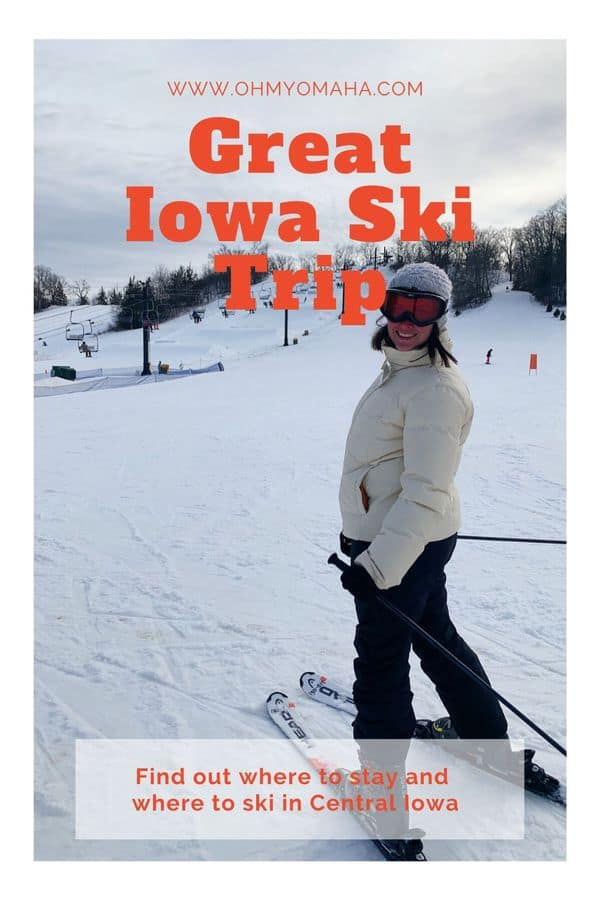 A fun winter vacation idea in the Midwest: A ski trip in Iowa! Here's a weekend itinerary pairing downhill skiing at Seven Oaks Recreation and overnight accommodations in family suites at the historic Hotel Pattee.