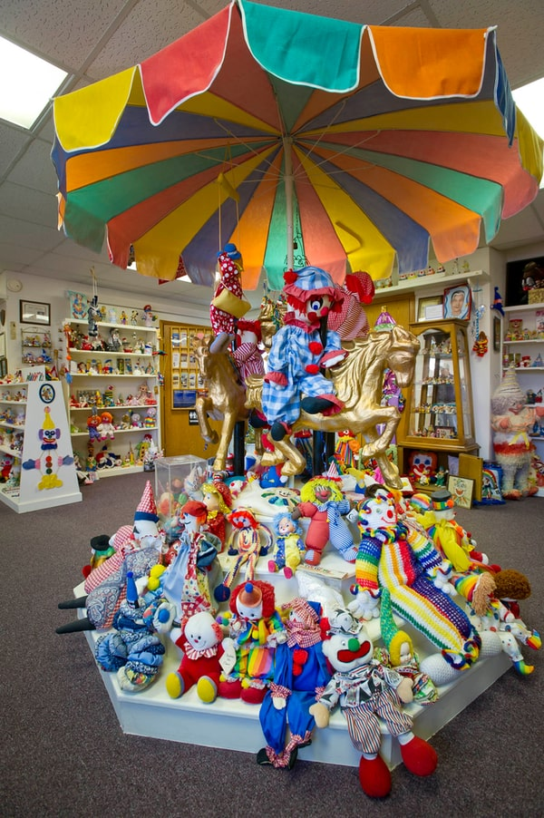 Quirky Nebraska - The Klown Doll Museum in Plainview