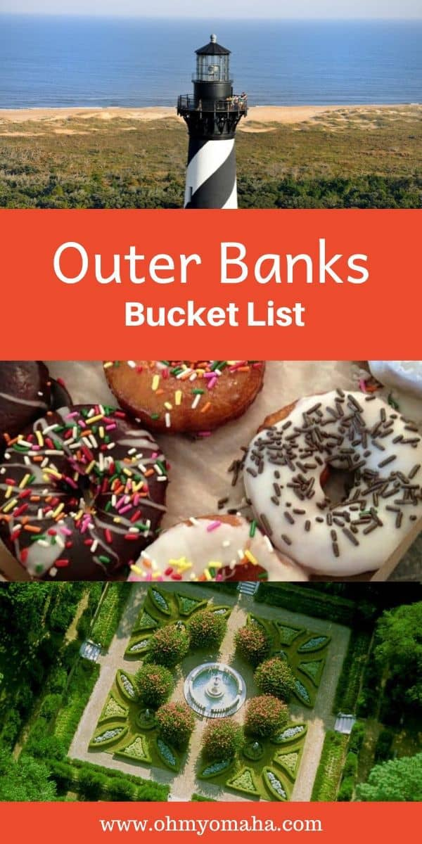 My Outer Banks Bucket List - A list of amazing things I want to see and do with my family in North Carolina's famous Outer Banks #bucketlist #familytravel #OBX #USA #USAtravel #NorthCarolina