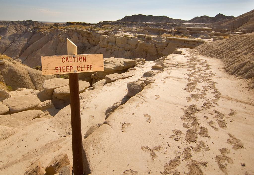 Go way off-the-beaten-path in Nebraska and visit Toadstool Geologic Park in western Nebraska