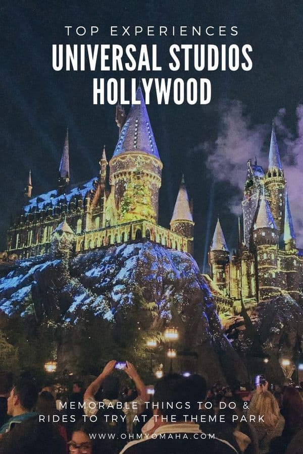 Want to plan the best trip to Universal Studios Hollywood for your family vacation? Here's a list of the most memorable things for my family - including the wettest attraction, our favorite ride, and the best food to split. #UniversalStudiosHollywood #Partner #California #USA #LA #losangeles #familytravel #themepark