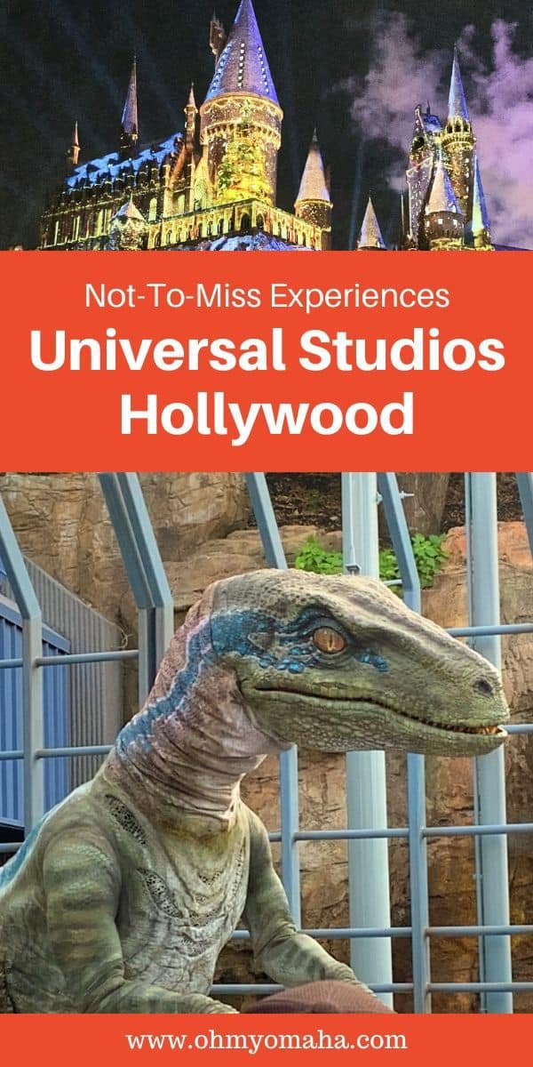 What's the wettest attraction at Universal Studios Hollywood? What's the best splurge? Here's a list of the most not-to-miss experiences at the California theme park! Use this list to plan your must-do things at Universal Studios Hollywood. #UniversalStudiosHollywood #Partner #California #USA #USATravel #familytravel