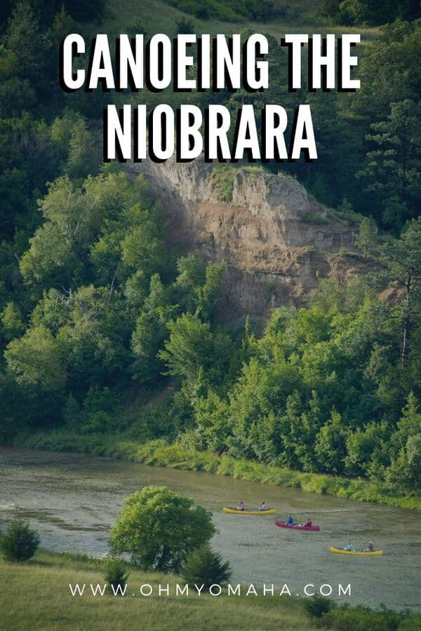 Everything you need to know about canoeing the Niobrara River in the Sandhills of Nebraska, especially if you plan on taking kids with you | Outdoors guide to Nebraska canoeing | Family canoe trip Nebraska | Canoe Nebraska | Float trips in Nebraska