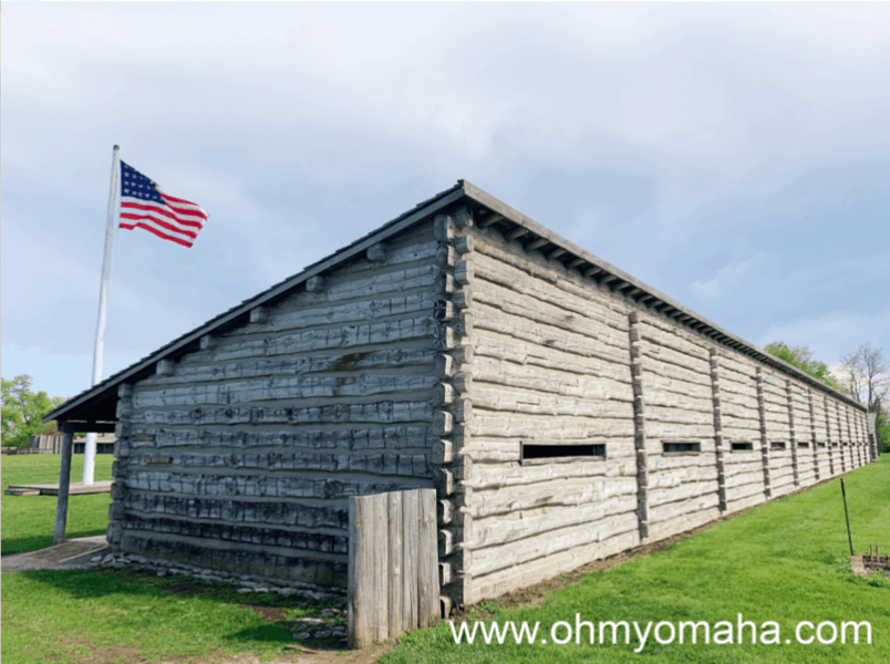 Fort Atkinson located in Fort Calhoun, Nebraska. History Nebraska has an educational printable about the fort's history.