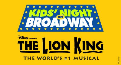 Kids' Night on Broadway The Lion King logo