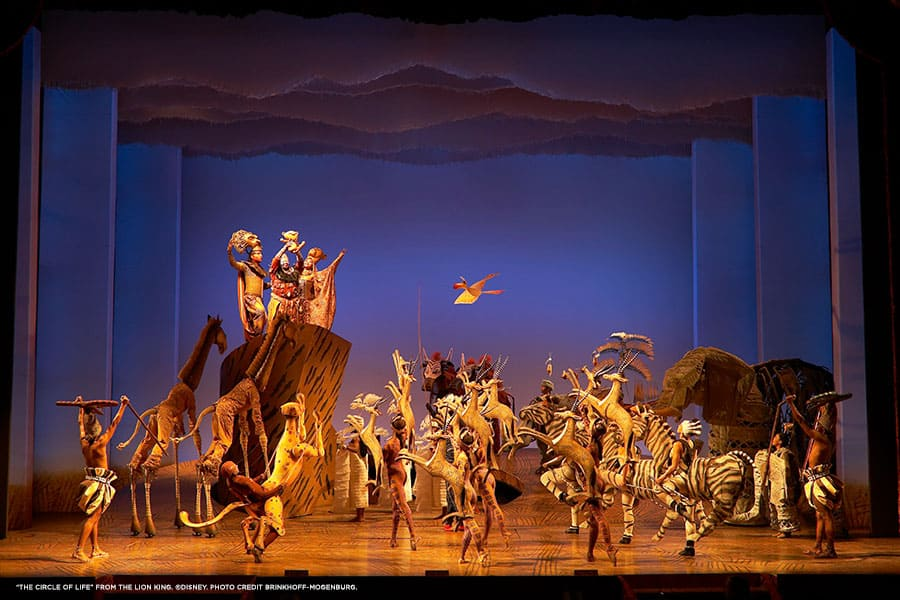 """Disney's The Lion King"" ensemble"
