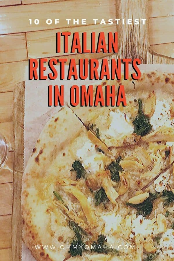 Need dinner ideas for Omaha? Here are some of the best Italian restaurants in the city! This is a local's guide to Omaha Italian restaurants, and includes restaurants that make their own pasta, use wood-fired ovens, and Italian desserts. #Omaha #Nebraska #BestoftheMidwest #localtourist