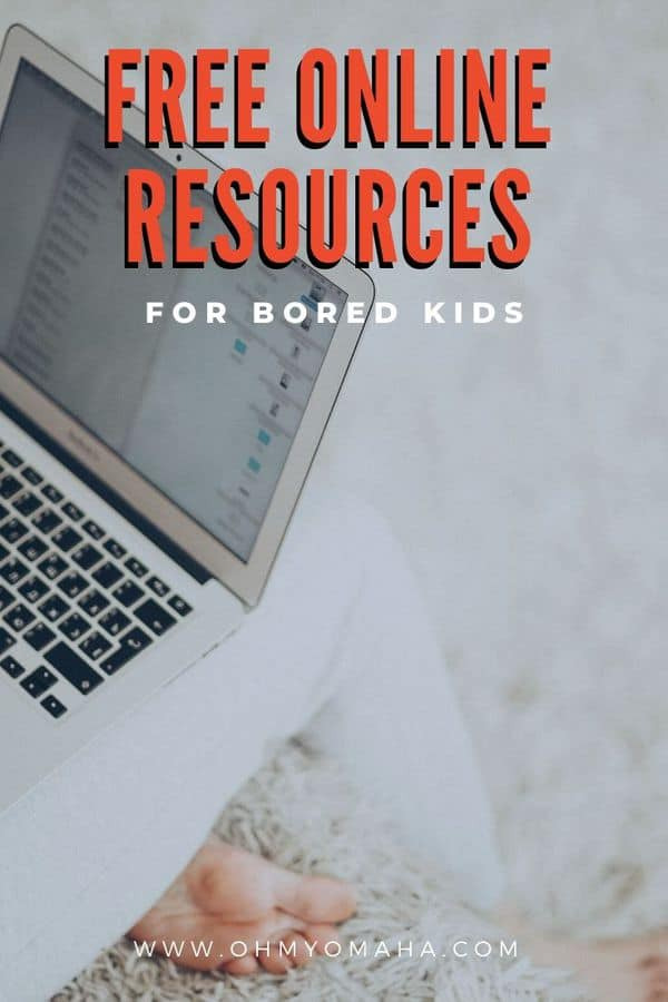 Stuck inside with kids? Here's a list of free games, free e-books, educational activities, virtual tours, science experiments, and more for kids.