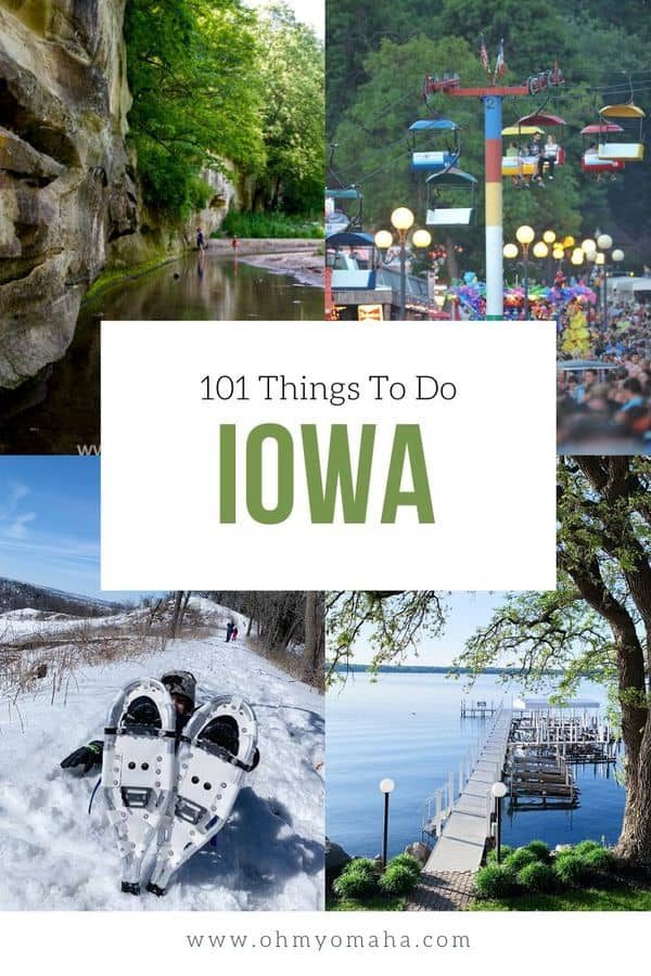 The ultimate list of things to do in Iowa! This list includes places to visit, restaurants to add to your list, and only-in-Iowa experiences. #Iowa #ThisisIowa #Guide #USA