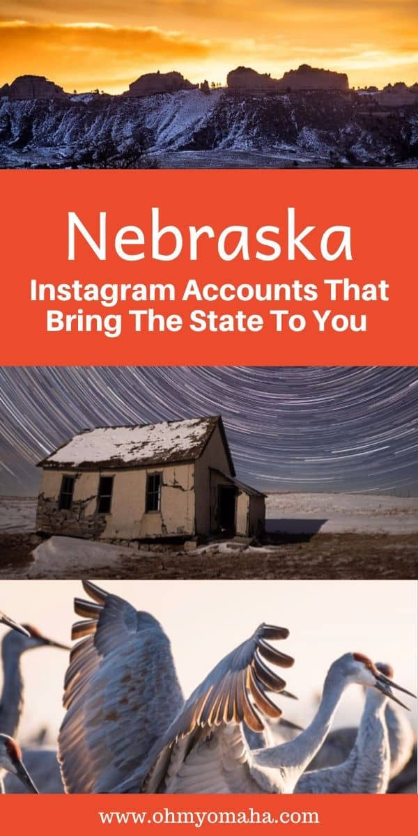 These Instagram accounts feature gorgeous photos of Nebraska, so when you can't take a trip, take a virtual one! See accounts to follow for scenic Nebraska images.