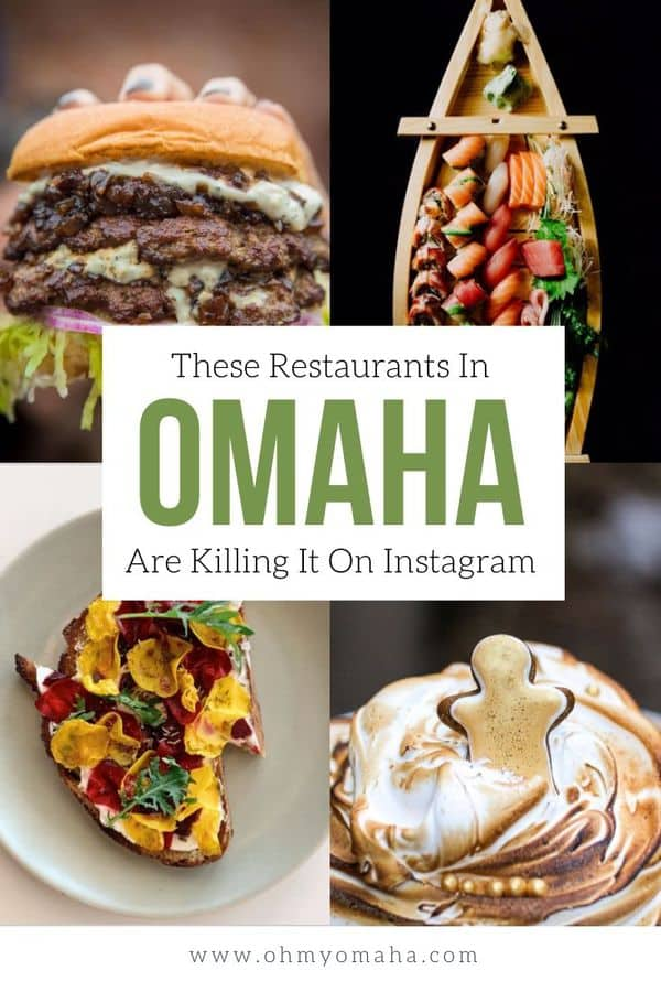 Love food? Love Omaha restaurants? This is a list of restaurants, bakeries, and ice cream shops in Omaha that have stunning photos on Instagram. If you aren't hungry, you will be. #Omaha #Nebraska #foodphotography #foodie #eatlocal