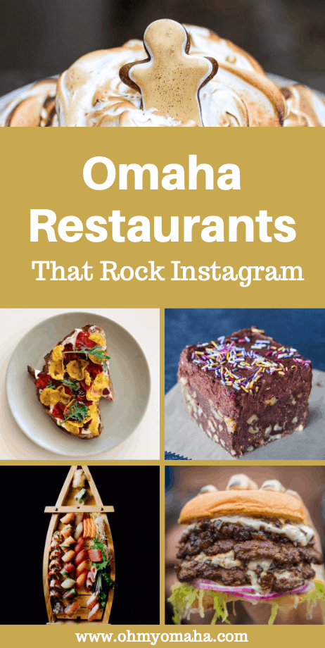 There are a lot of restaurants in Omaha with an Instagram account, but these are the restaurants sharing the most amazing photos! Check out which restaurants to follow for beautiful food photography and inspiration for your next dinner out. #Omaha #Nebraska #foodphotos #foodies