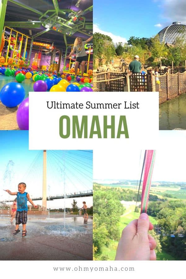 Plan a summer outdoors in Omaha! This list includes annual favorites like CWS, popular concert series, and water sports. List is updated with 2020 restrictions and cancellations. #FamilyFun #summer #Nebraska #Omaha