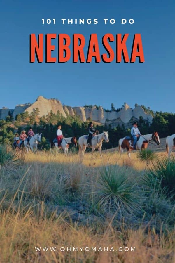 Your guide to visiting Nebraska! Huge list of things to do, places to see and unforgettable experiences in Nebraska! #Guide #Nebraska #USA #USAtravel