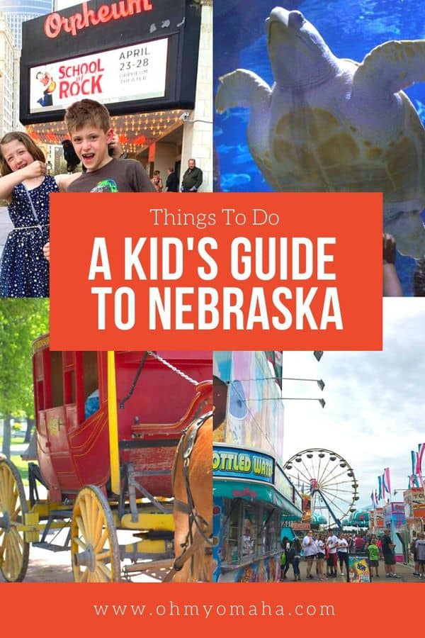 "Looking for things to do in Nebraska with kids? Here's a list of kid-approved destinations in Nebraska, inspired by the book ""100 Things To Do In Nebraska Before You Die."" #Nebraska #familytravel"