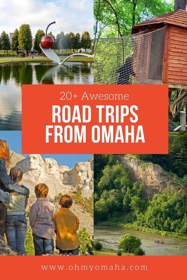 Inspiration for weekend getaways in Nebraska, Iowa, South Dakota, Missouri, Minnesota and Kansas! All  trips are less than a day's drive from Omaha. Summer vacation is just a car ride away. #Midwest #FamilyTravel #RoadTrip