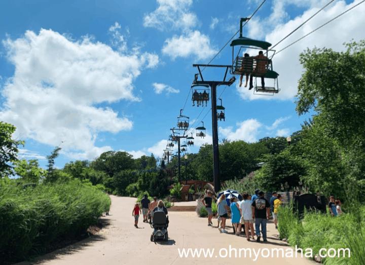 Skyfari at Omha's Henry Doorly Zoo & Aquarium