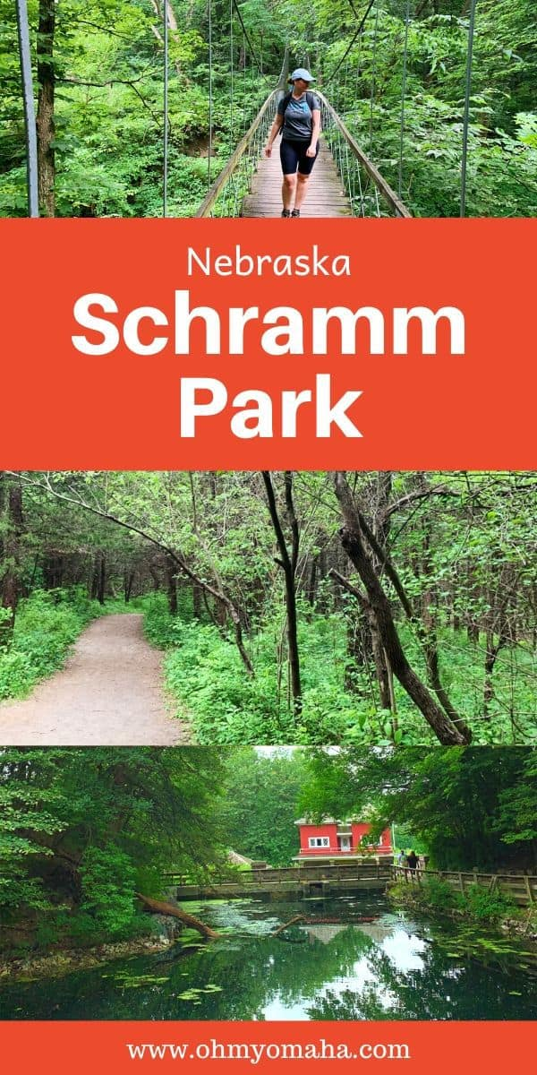 Plan a fun day trip to Schramm Park   near Omaha, Nebraska. Here's what you need to know about the park, including what to bring, what the trails are like, and if the admission to the Education Center is worth it. #Nebraska #statepark #hiking #daytrip #familytravel
