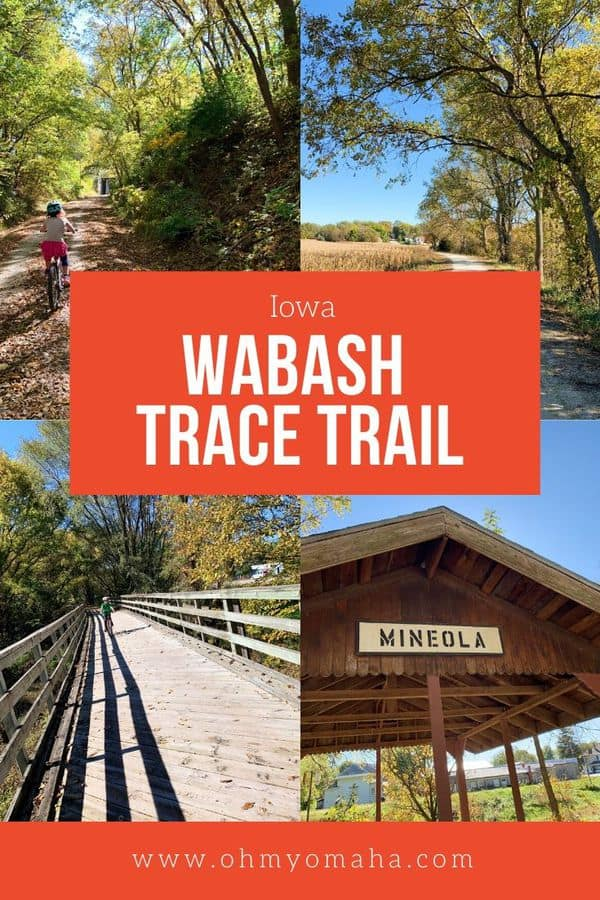 Explore rural southwest Iowa with a bike ride along the Wabash Trace Trail. It's a kid-friendly trail, but this post includes tips for what to expect if you take kids. And if you haven't heard about the popular Taco Ride, this post explains what that is, too. #Iowa #bikes #familytime #trails #Midwest #ThisIsIowa