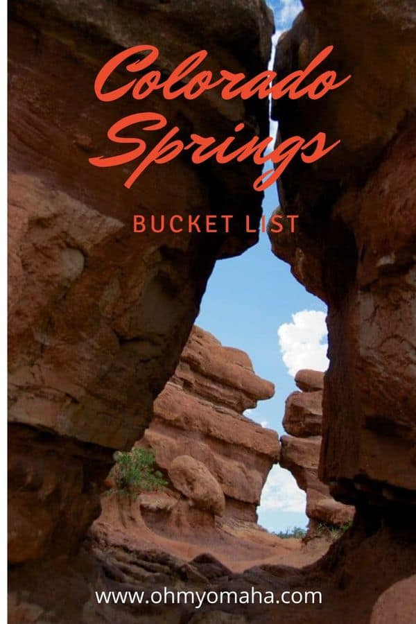 I'm planning a vacation to Colorado Springs and this is my bucket list! A collection of the ultimate things to do in Colorado Springs, including outdoor adventures, must-see vistas, and kid-friendly, unforgettable attractions. #Colorado #ColoradoSprings #USA #USATravel #outdoors #familytravel