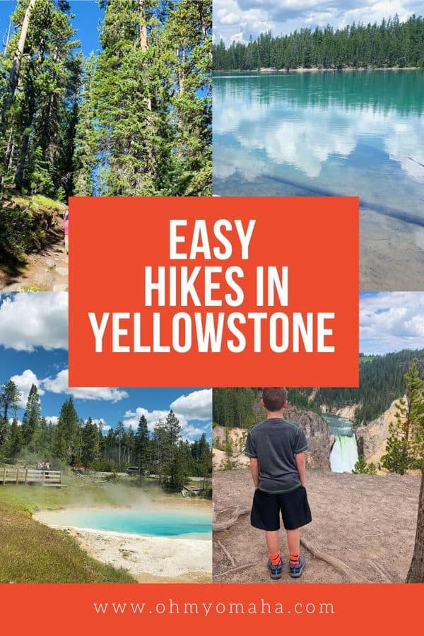 Planning a trip to Yellowstone National Park? Here are a few of our favorite easy hikes! These Yellowstone trails are good for beginners and families.
