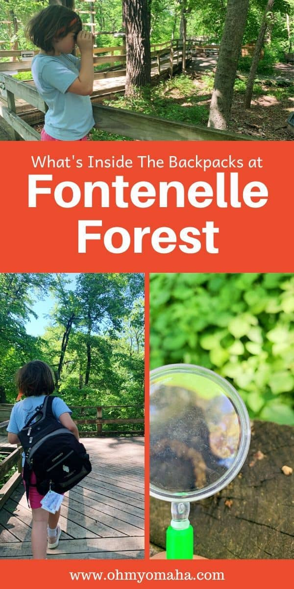 Planning a trip to Fontenelle Forest, near Omaha Nebraska? Here's a way to learn about the plants and wildlife you'll see there! #outdoors #Nebraska #familytime #Midwest #hiking