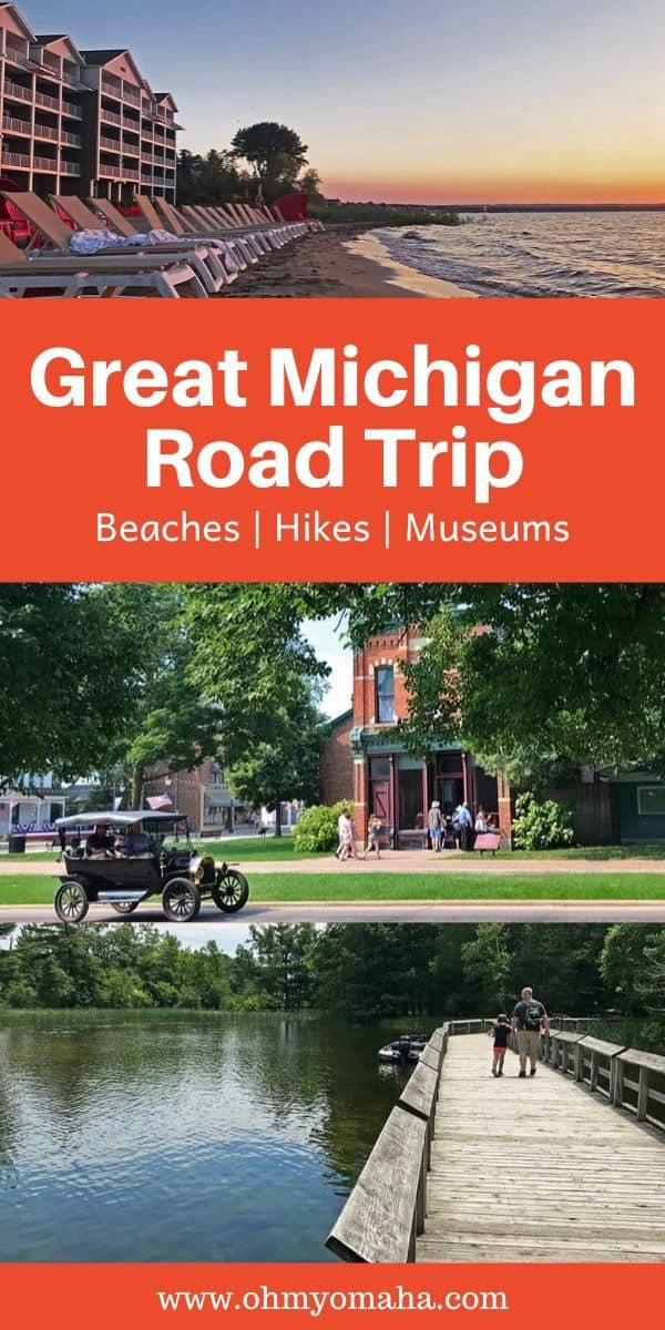 An awesome road trip itinerary through Michigan - Tips how to have an unforgettable road trip with stops in Grand Rapids, Detroit & Mackinac Island.