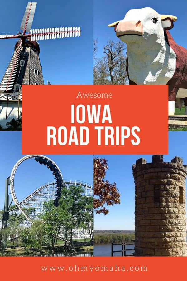 Summers are for road trips! If you're looking for a Midwestern destination, here's where to road trip in Iowa, with tips on what to do in each city and what to see. Iowa has wide-open spaces, amusement parks, and quirky attractions.