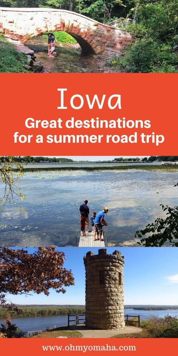 Need an inexpensive but fun summer getaway? Here are 13+ Iowa road trips this summer, with tips on what cities to visit, what to do, where to eat, and what's not-to-miss.